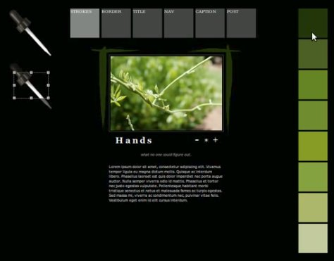 thumbnail for 'HTML5 tool for creating color palettes from an image'