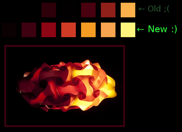 thumbnail for 'ColorPal palettes improved!'